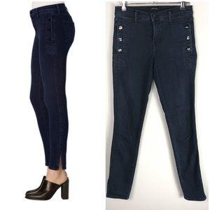 J Brand $248 Zion Mid Rise Jeans Indigo Denim